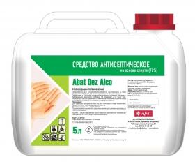 Антисептическое средство для рук Abat Dez Alco, канистра 5 л, арт. 12000137190