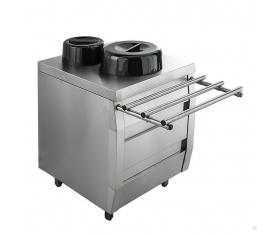 ВЕГА Диспенсер-подогреватель для тарелок 3ДП-2 комплект