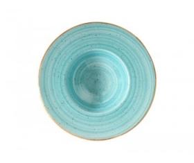 Тарелка для пасты 28см. голубая AAQ BNC 28 CK Bonna AQUA AURA