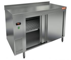 TS 10 GN (1000x700x850) тепловой стол-купе пристенный, HICOLD RUS