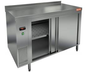 TS 10 SN (1000x600x850) тепловой стол-купе пристенный, HICOLD RUS